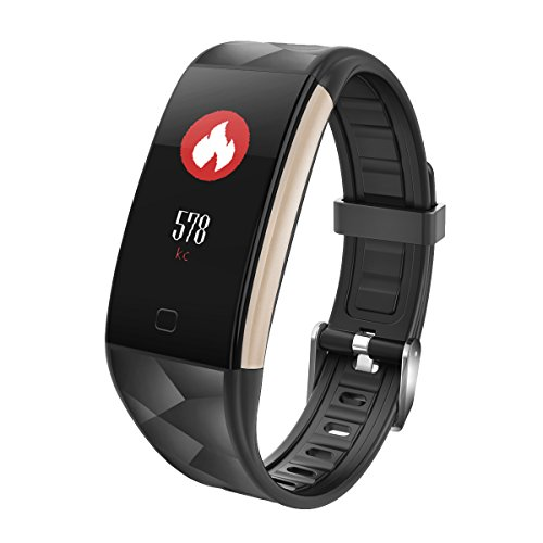Fitness Tracker, Cardiofrequenzimetro da Polso Activity Tracker Orologio Braccialetto Fitness Donna Uomo Schermo a Colori Watch Bracciale Smart watch Sport Watch per Android iOS Smartphone