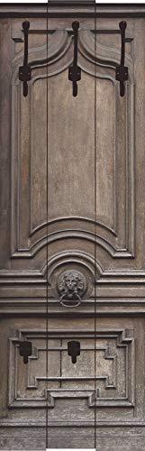 Artland Qualitätsmöbel I Garderobe Wandpaneele Spiegel Möbelset Architektur Fenster Türen Fotografie Braun A7NA Alte, Massive Tür
