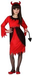Atosa-22737 Disfraz Demonia, color rojo, 3 a 4 años (14953)