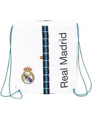 Real Madrid C.F. - Saco plano, 35 x 40 cm (Safta 611356196)