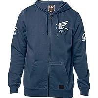 Sudadera para Hombre Fox Honda Zip Fleece (Azul Marino)