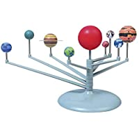 DIY Colored Planets Educational toys Planetarium 3D Model Science Kits toy