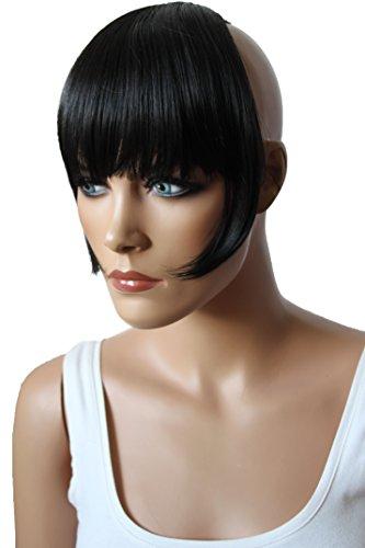 PRETTYSHOP Clip In Extension Haarverlängerung Pony Stirnfransen Haarteil Natürlich HF2-2
