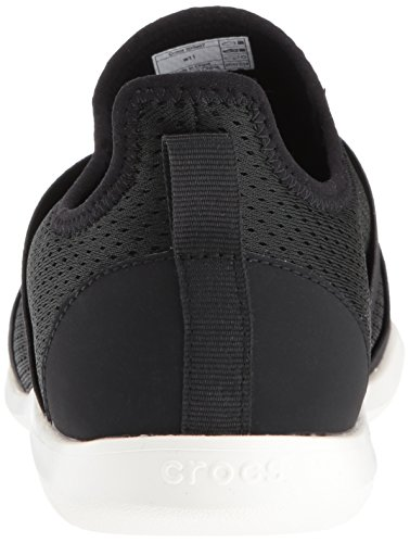 Crocs Swiftwater X-strap, Sabots femme Black/White