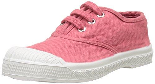 Bensimon - Tennis Lacet Enfant, Basse Unisex – Bambini Rosa (Rose Blush)