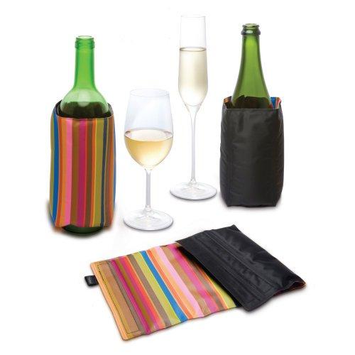 Pulltex Wine Cooler bunt und schwarz, 2-seitig