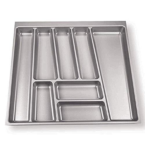 yujun737 Besteck Aufbewahrungsbox, Küchenbesteck und Utensilien Schubladen Organizer, Arbeitsplatte Vorratsbehälter, Besteck Aufbewahrungstruhe -