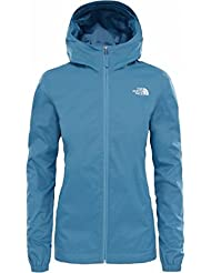 The North Face T0A8BAUYT Chaqueta Quest, Mujer, Be Bk Hr, XS