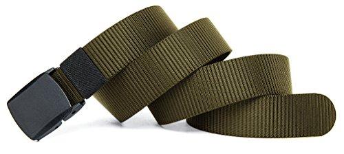 veasti-ceinture-tissu-homme-de-toile-elastiques-de-ceinture-pour-hommes-51-long-15-wide-vert