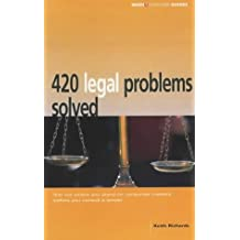 420 Legal Problems Solved (Which? Consumer Guides) by Keith Richards (2003-09-25)