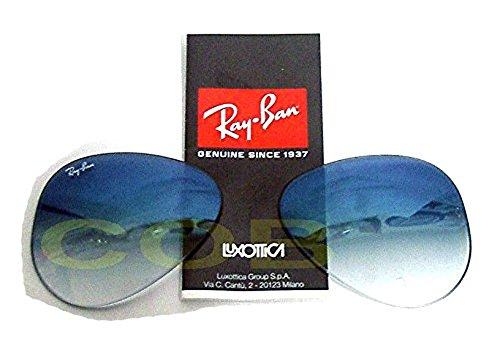 Ersatzgläser Replacement Lenses Ray Ban 3025verschiedenen Farben, blau 55 58 62