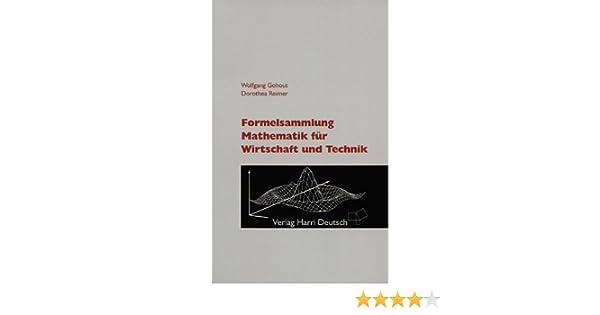 formelsammlung mathematik fr wirtschaft und technik