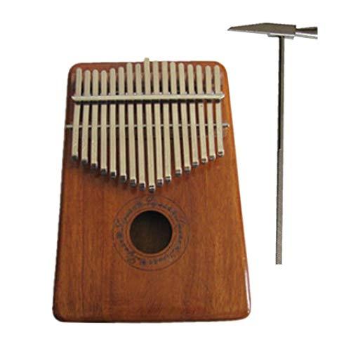 iBaste Kalimba 17 Taste Hochwertige Professionelle Akustische Finger Daumen Piano Instrument Geschenk Tragbares Musikinstrument