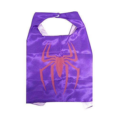 KeepworthSourcing, 55 x 70 cm, Motiv Superhero Regenmäntel für Kinder Party Kinder Gifts Spidergirl