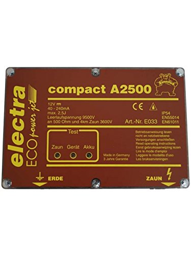 electra Weidezaungerät compact A2500