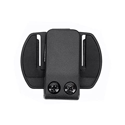fodsports Clips pour casque de moto casque Interphone Interphone Bluetooth New V6 1