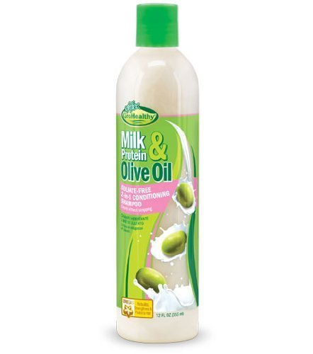 Sofn Free Grohealthy Milk Proteins & Olive Huile 2 In 1 Shampooing Conditionneur 355ml (6443)
