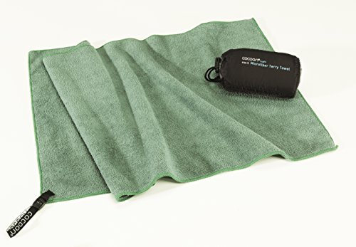 Cocoon Reisehandtuch Terry Towel Light Large 120x60cm - Microfaser Handtuch