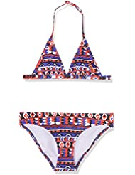 Chiemsee Chica Lana Junior Fix Triangle Bikini, niña, LANA JUNIOR, Mighty Force, 10 años (140 cm)