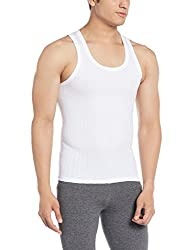 Force NXT Mens Cotton Vest (8902889609225_MNFR-241_Medium_White)