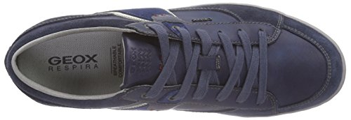navy Herren Royalcf44r U Blau dk C Geox Box top Low npa0wnq7B