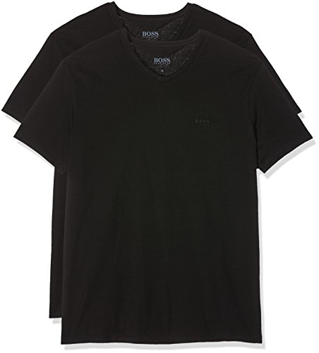 BOSS Herren T - Shirts VN 2P CO, 2er Pack, Schwarz (Black 001) XX-Large
