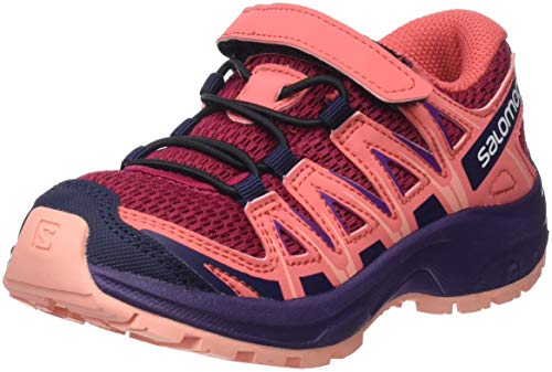 Salomon Kinder XA Pro 3D K, Trailrunning-Schuhe, rot (cerise / dubarry / peach amber), Größe 29