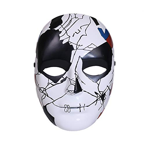 Kostüm Daredevil Punisher - Chiefstore Billy Russo Maske Cosplay Kostüm Harz Helm Replik für Erwachsene Herren Halloween Kleidung Zubehör