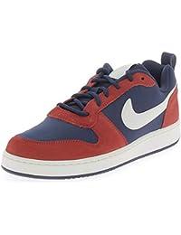 quality design 933a6 9378e Nike - Nike Court Borough Low Prem Scarpe Sportive Uomo Rosse Blu - Blu, 44