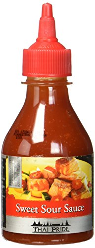 Thai Pride Süß-Sauer Sauce, 3er Pack (3 x 200 ml)