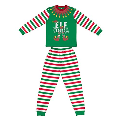 42f3df367edd5 Made By Elves Ladies Elf Squad Matching Family Christmas Elf Pyjamas - UK  16-18