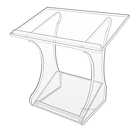 Table Top Acrylic Lectern Teacher Book Stand - Perfect for Lecture, classroom, church by Playlearn