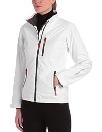 Helly Hansen W Crew Midlayer Jacket - Chaqueta para Mujer, Blanco (White), X-Small