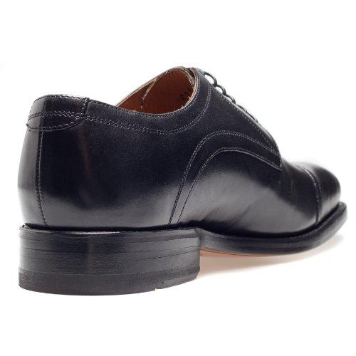 Gordon & Bros Havret 2323, rahmengenähte Herren Businessschuhe und Schnürhalbschuhe Schwarz (Black)