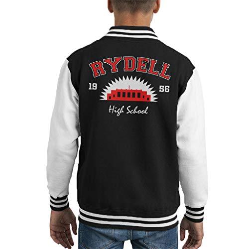(Cloud City 7 Grease Rydell High School Kid's Varsity Jacket)