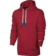Nike PSG M NSW Hoodie PO CRE - Sudadera Paris Saint Germain para hombre, color rojo, talla S