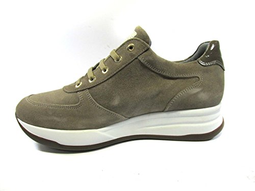 Liu Jo Fille B23297 Taupe Sneakers Chaussures Femmes Chaussures Confortables Taupe