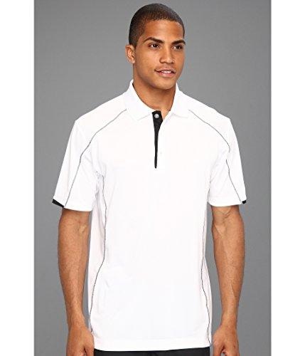 Nike Golf Herren Tech Core Farbblock Polo WEISS / SCHWARZ // SCHWARZ 2XL - Nike Tech Core