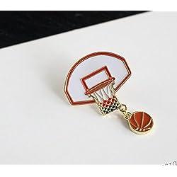 Broches para Ropa con botón de la Marca Special Novel de Baloncesto, Accesorios para niños y niñas, Joyas Amigos
