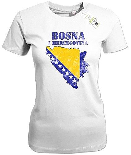 BOSNA VINTAGE LOOK - BOSNIEN HERZEGOWINA - WOMEN T-SHIRT by Jayess Weiß