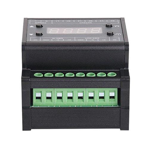 Sharplace Gradateur de Lampe LED en ABS Adaptateur Contrôleur de Bande de LED