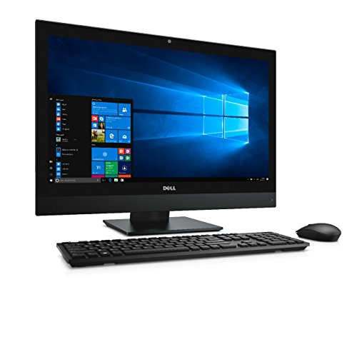 Dell 5DH18 All-in-One Desktop PC (Intel Core i7-7700, 500GB Festplatte, 8GB RAM, AMD Radeon, All Win Server Versions 2000) Mehrfarbig
