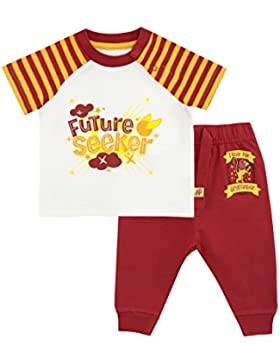 HARRY POTTER Baby Jungen Gryffindor Jogginghose und Shirt Set