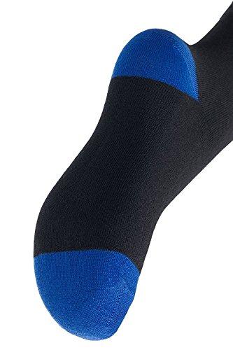 Footstar -  Calze sportive  - Uomo Nero
