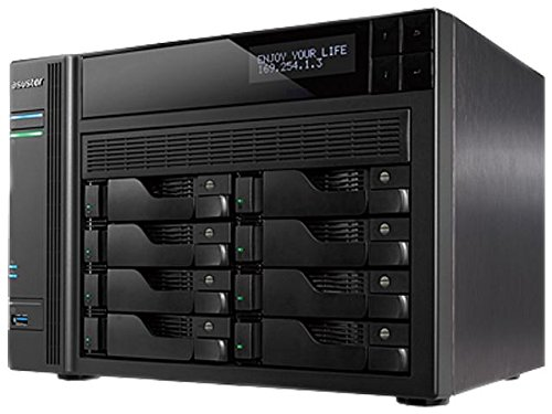Asustor AS7008T - NAS, Color Negro