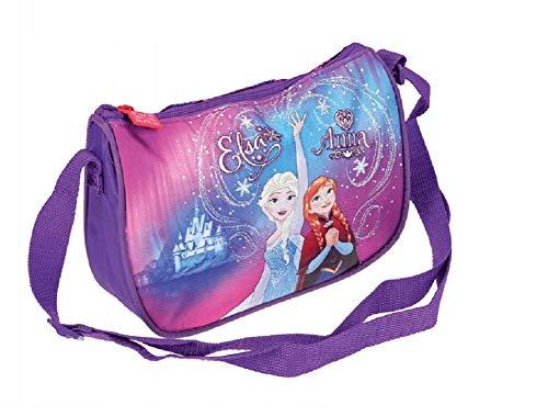 Disneys Frozen Eiskönigin Anna & Elsa Handtasche Kinder Tragetasche Tasche Schultertasche für Mädchen Kindergarten Umhängetasche Henkeltasche Kindergartentasche