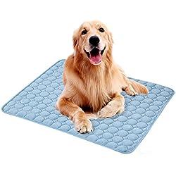 Verano almohadilla de refrigeraci�n para mascotas perro gato esteras port�tiles colchoneta de dormir gatos cachorro coj�n fr�o disipaci�n de calor de la cama