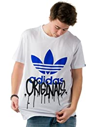 Adidas Graphic Trefoil City Tee T-Shirt WEISS V33756