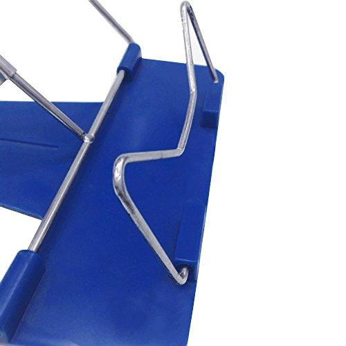 Gosear Atril para Documentos,Color Azul (22 x 19cm)