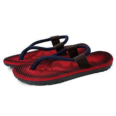 Slippers & amp da uomo;Luce, Primavera, Estate Soles microfibra Casual Altri Blu Rosso Altro Sandalo sandali US8.5-9 / EU41 / UK7.5-8 / CN42